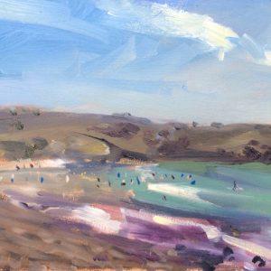 Manorbier August 3 is an original oil painting by Jon Houser