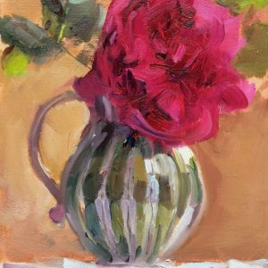 Rose flower painting by Jon Houser