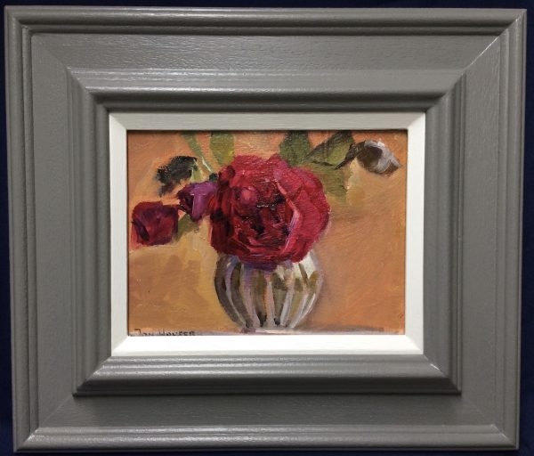 Tess of the Dúrbervilles Rose painting framed