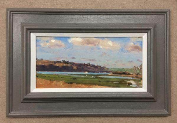 garron pill framed painting