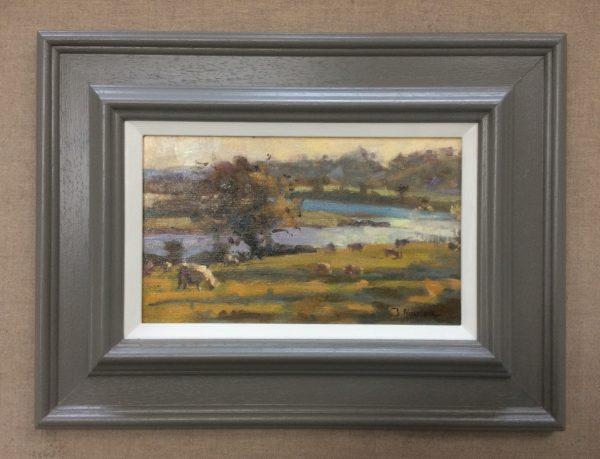 carew framed painting