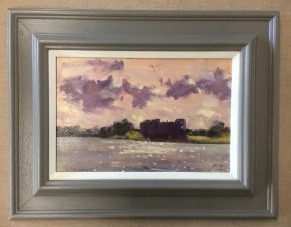 into the light carew framed painting