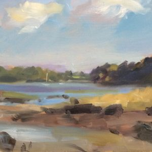 Llangwn is an original oil painting by Jon Houser