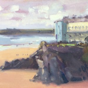 Tenby Seascape is an original oil painting of Tenby by Jon Houser