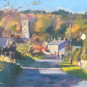 Lawrenny is an original oil painting by Jon Houser