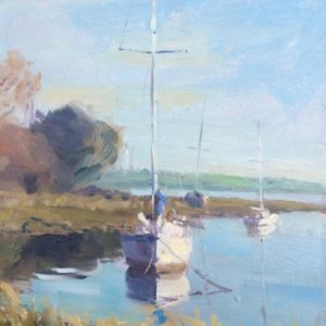 High Tide at Angle oil painting by Jon Houser