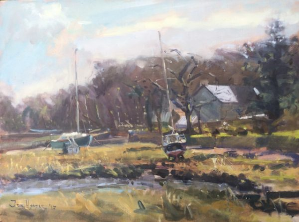 Winter Light at Angle is an original oil painting by Jon Houser
