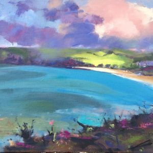 Freshwater East Serenity - original oil painting by Jon Houser