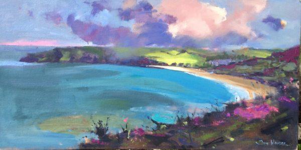 Freshwater East Serenity - original oil painting by Jon Houser