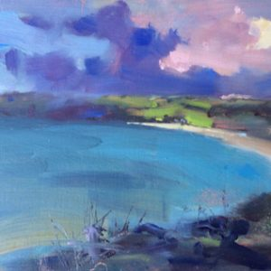 Freshwater East Serenity oil study by Jon Houser