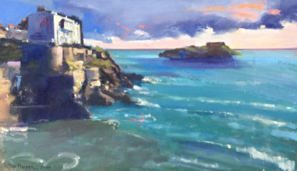 New Day Dawning is an original oil painting by Pembrokeshire Artist, Jon Houser
