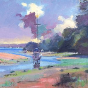 Sandy Haven Repose original oil painting by Jon Houser