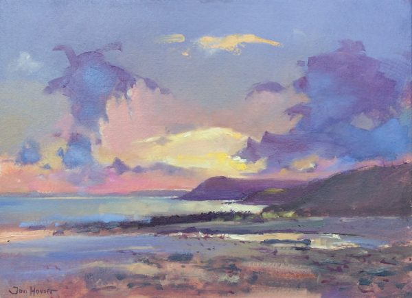 Pembrokeshire Seascape is an original oil painting by Jon Houser