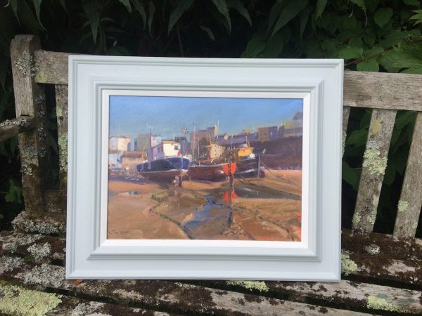 Tenby Boats in its frame