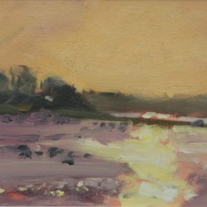 Cosheston Pill Low Tide is an original oil painting by Jon Houser