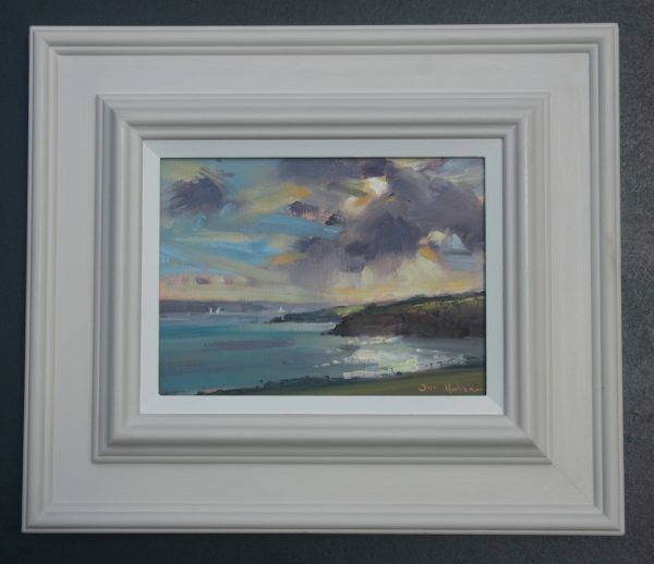 Sandy Haven Seascape framed
