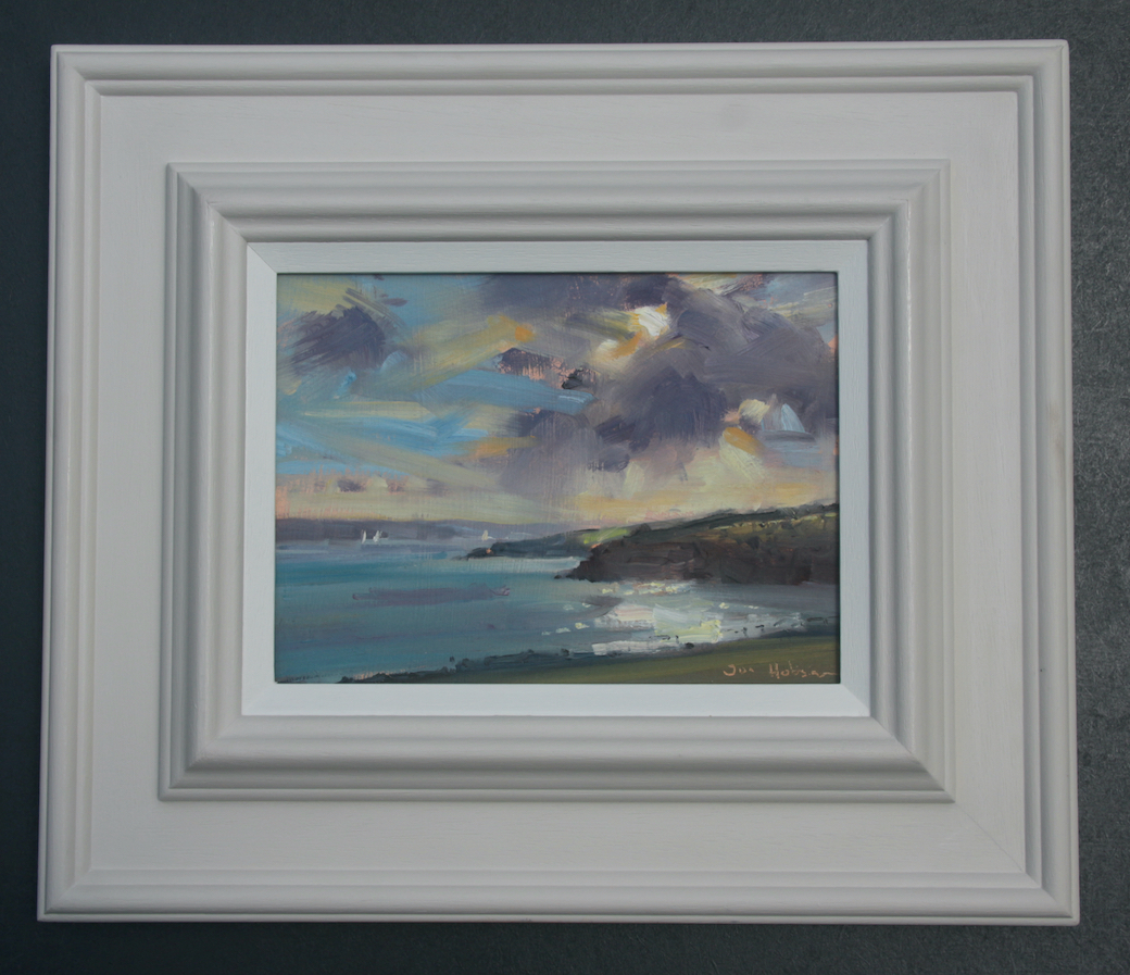 Sandy Haven Seascape framed