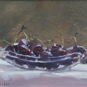 Kordia Cherries is an original oil painting by Jon Houser
