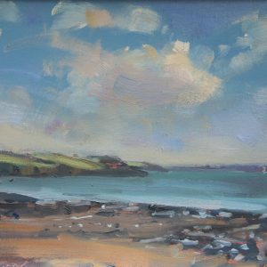 Sandy Haven Oil Sketch is an original oil painting by Jon Houser
