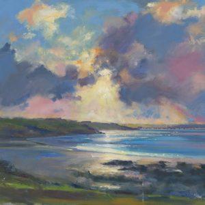 Serene Winter Morning at Sandy Haven Prints