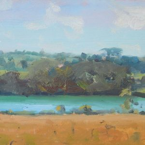 Carew Tidal Mill Pond in Summer is an original oil painting by Jon Houser